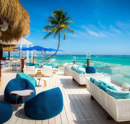 THE INDIGO BEACH LOUNGE BAR @ Club Med Punta Cana